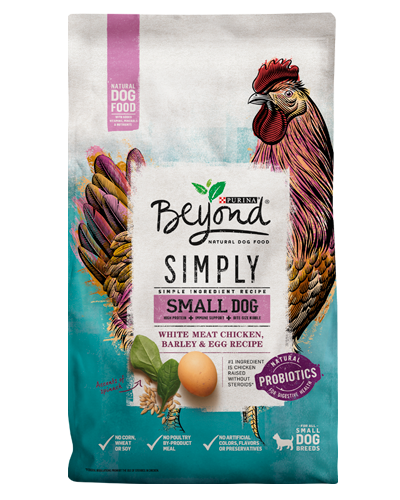Purina Beyond Simply Small Dog White Meat Chicken & Egg Recipe