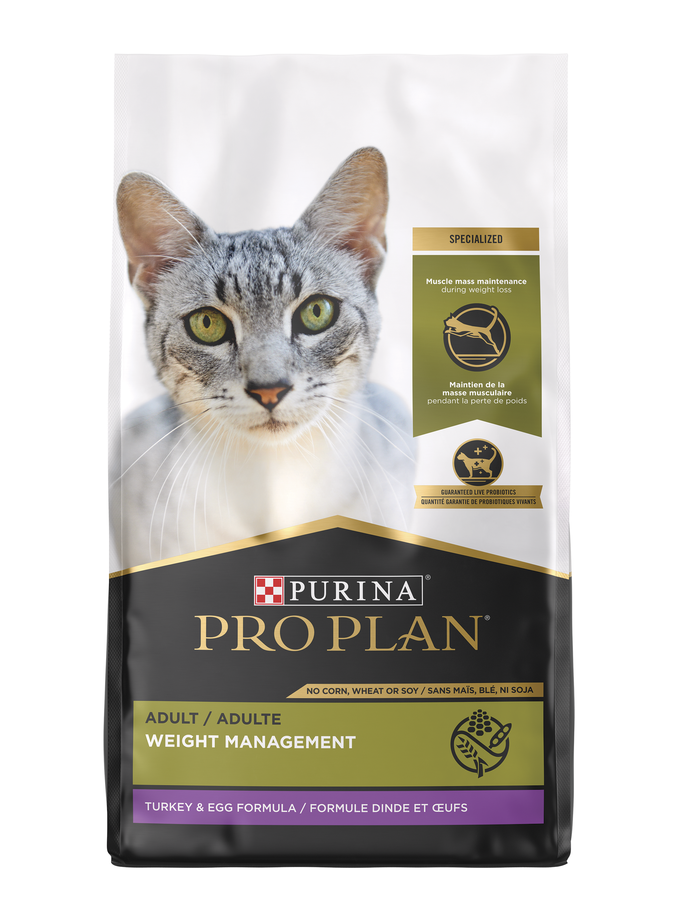 Purina Pro Plan Specialized Weight Management Turkey & Egg Formula