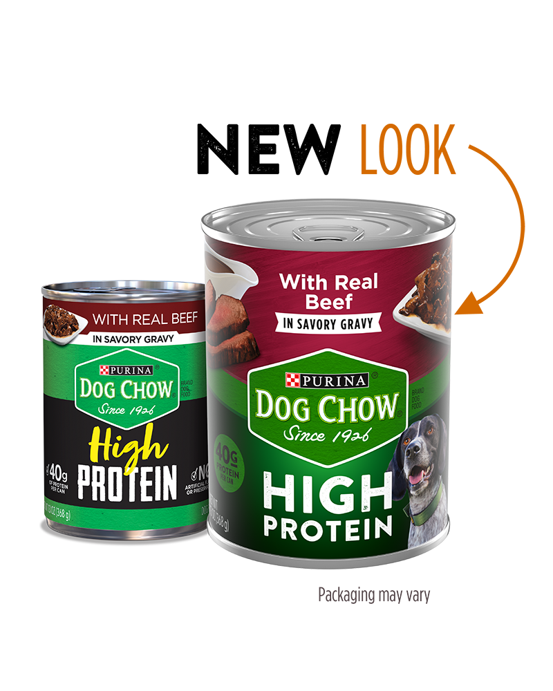 Dog Chow High Protein Beef