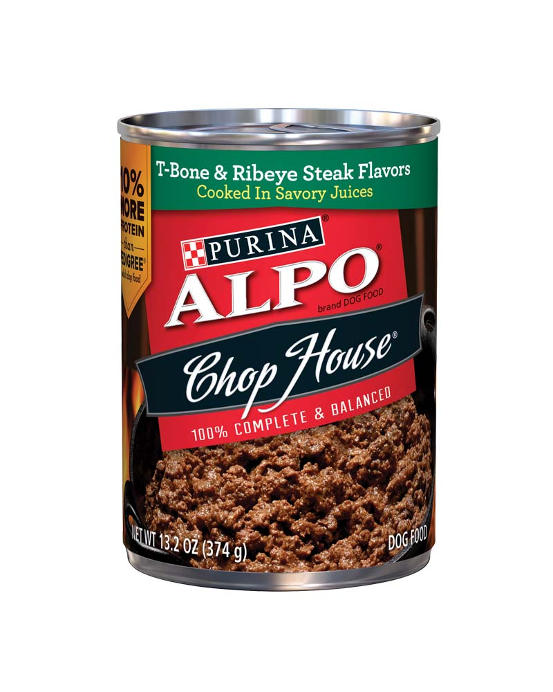 Alpo T-Bone and Ribeye Steak Flavor