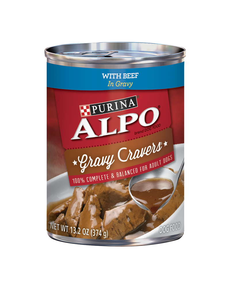 Alpo Gravy Cravers with Beef in Gravy