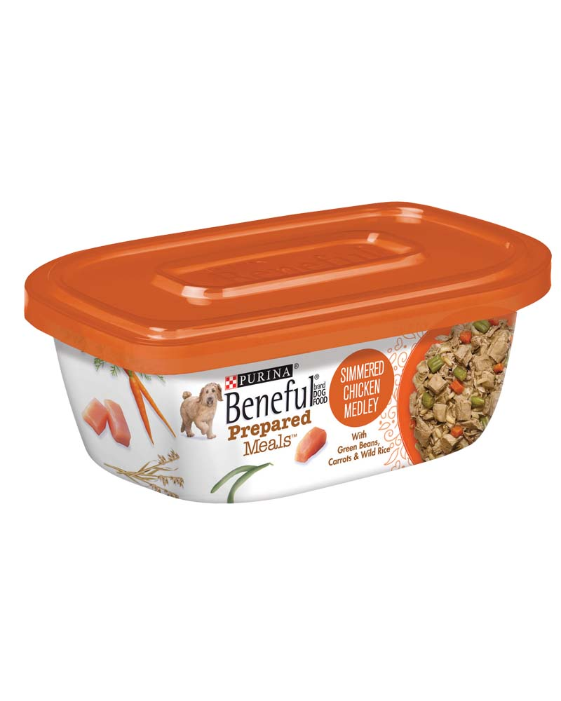 Purina Beneful Prepared Meals Simmered Chicken Medley