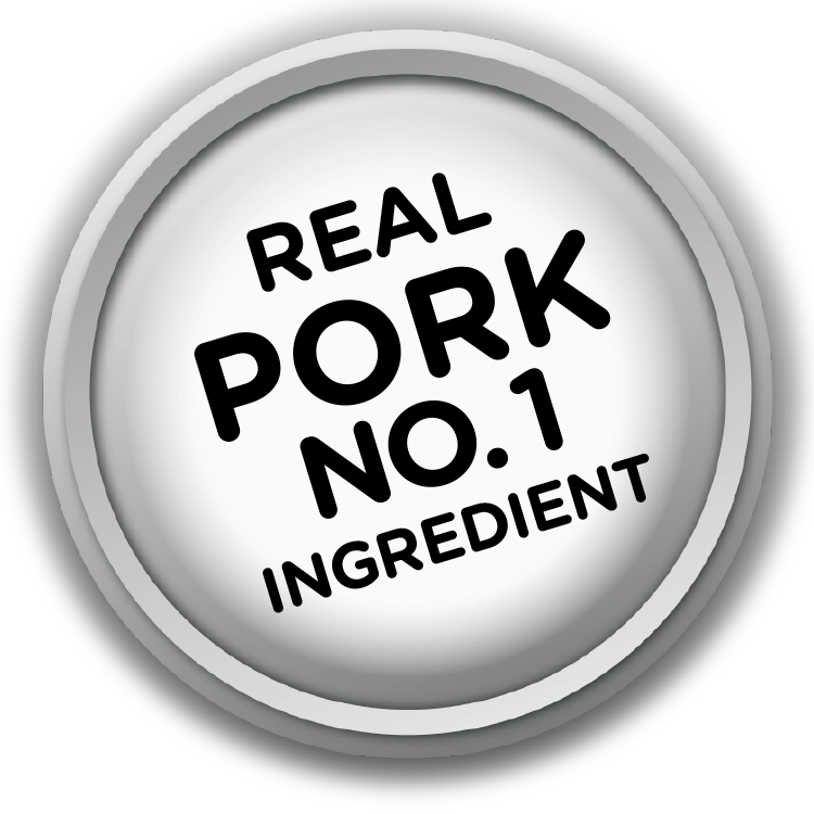 Real Pork Is #1 Ingredient logo