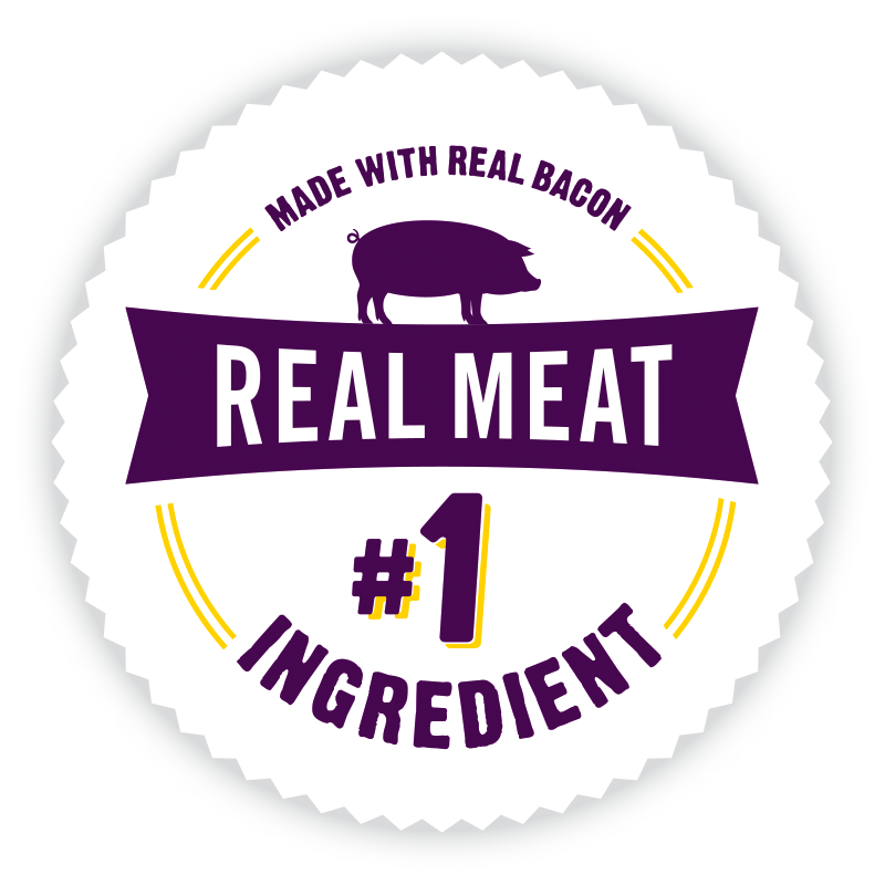 Real Meat is the #1 ingredient logo