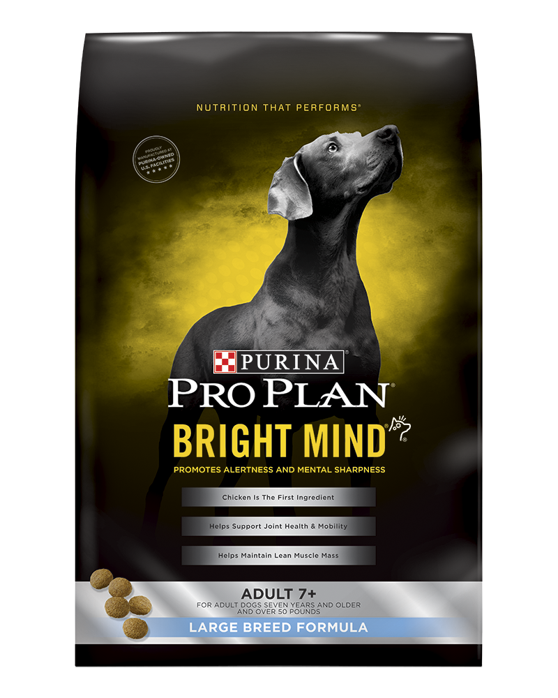 Pro Plan Bright Mind Senior Large Breed Dry Dog Food | Purina