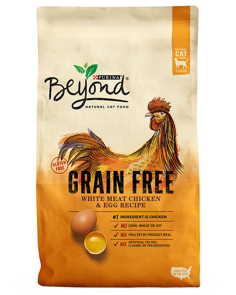Beyond Grain Free White Meat Chicken and Egg Natural Cat Food