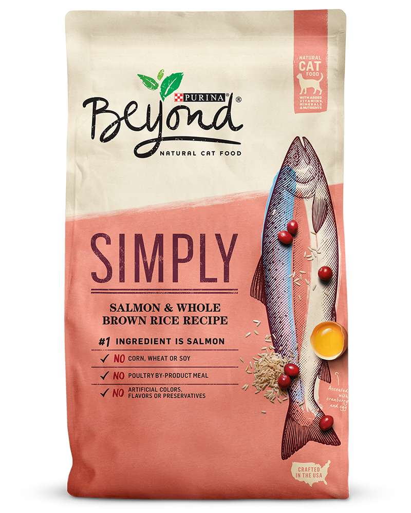 Beyond Salmon and Whole Brown Rice Natural Cat Food