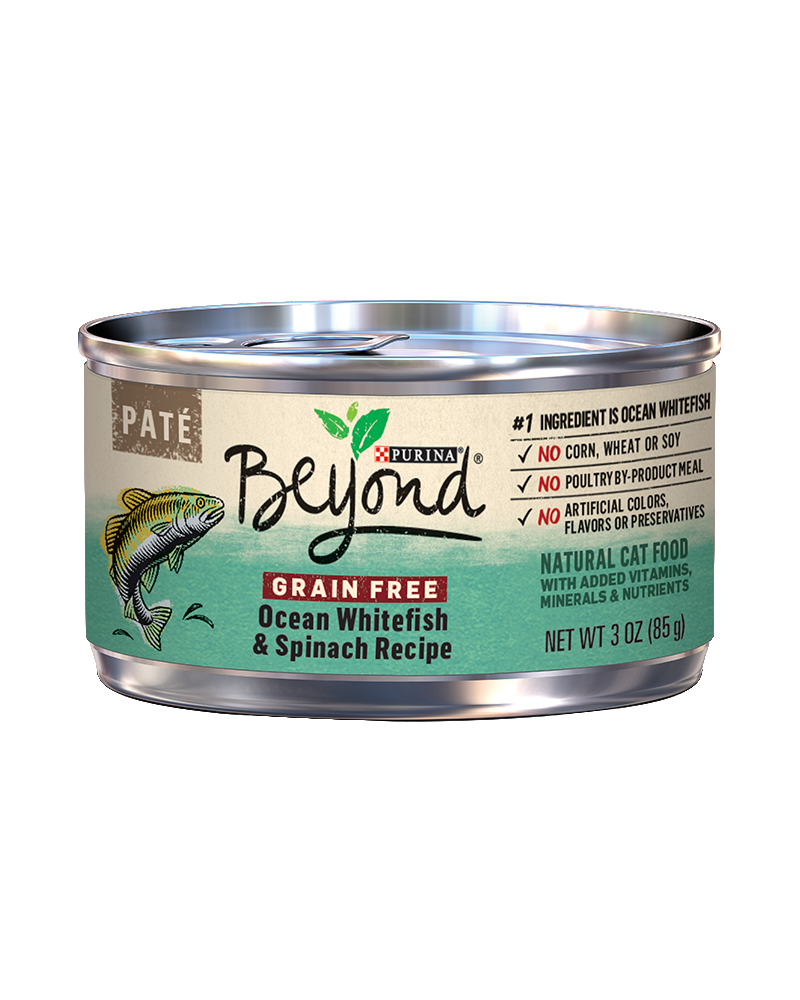 Beyond Pate Ocean Whitefish and Spinach