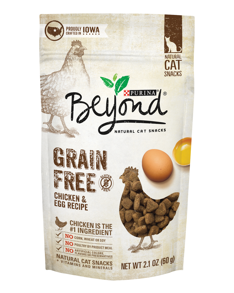 Grain Free Chicken & Egg Recipe Cat Treats