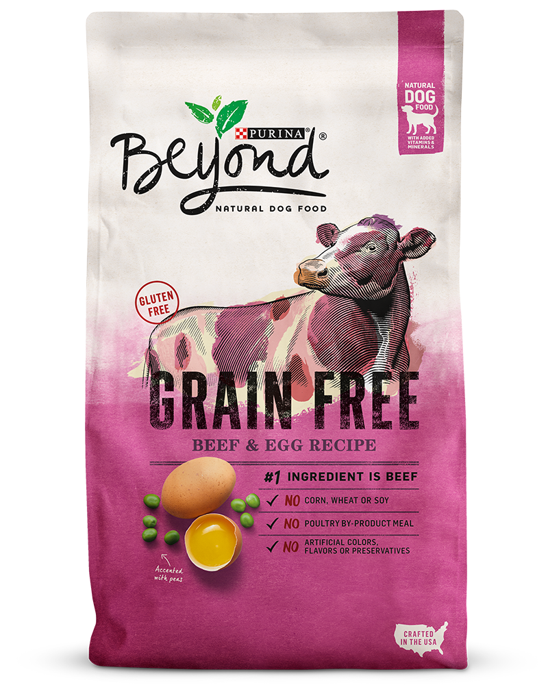 Beyond Grain Free Real Beef & Egg Dry Dog Food