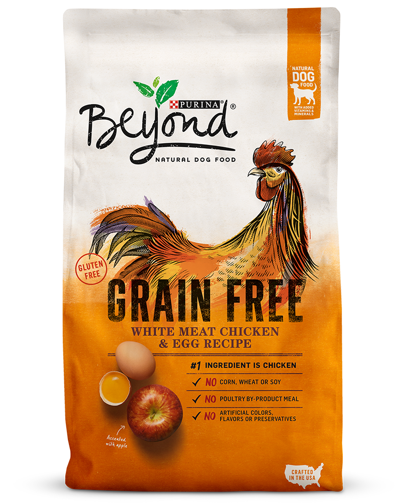 Grain-free White Meat Chicken & Egg Recipe Natural Dry Dog Food