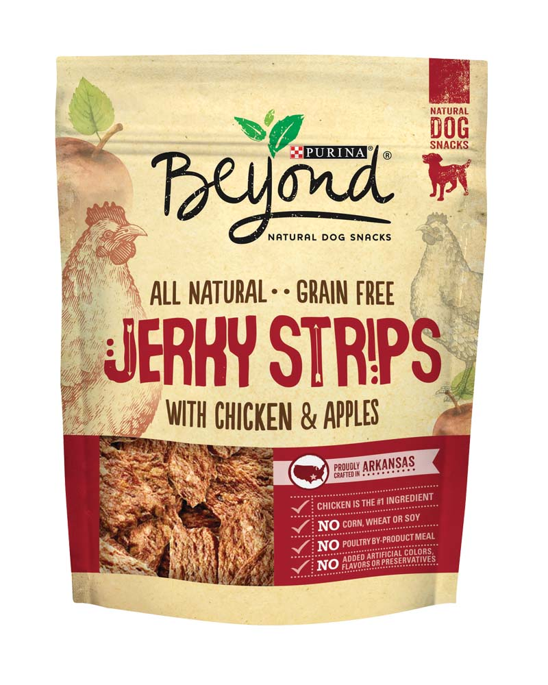 Jerky Strips Chicken and Apples