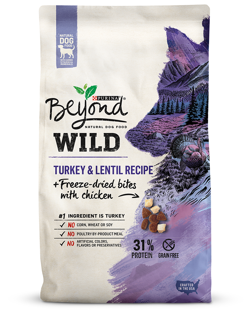 Wild - Turkey & Lentil Recipe + Freeze-Dried Bites With Chicken Natural Dog Food