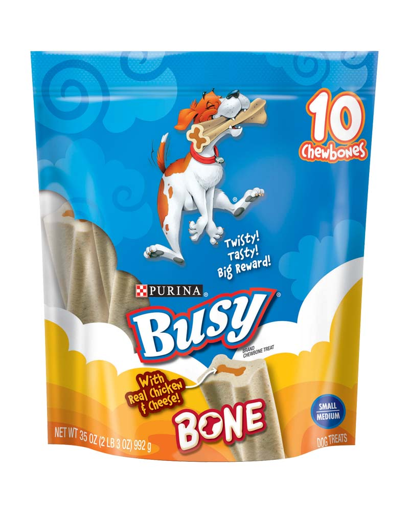 Busy Bone Chicken and Cheese Flavor