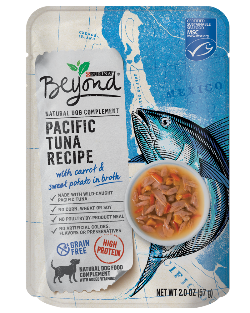 Beyond Pacific Tuna Dog Food Complement - front