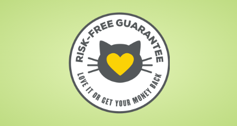 Tidy Cats Breeze Risk-Free Guarantee