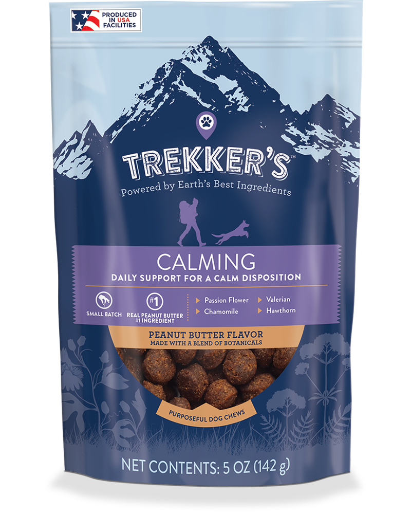 Trekker's Calming Dog Chews