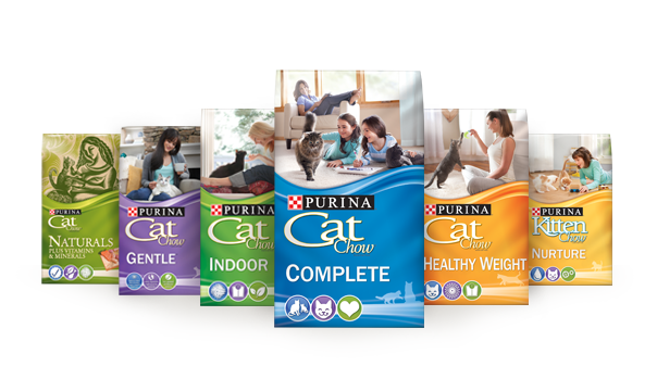 Cat Chow Products
