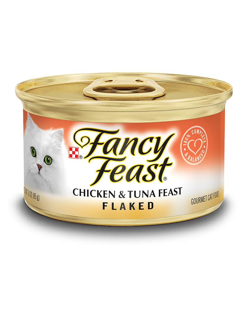Flaked Chicken and Tuna