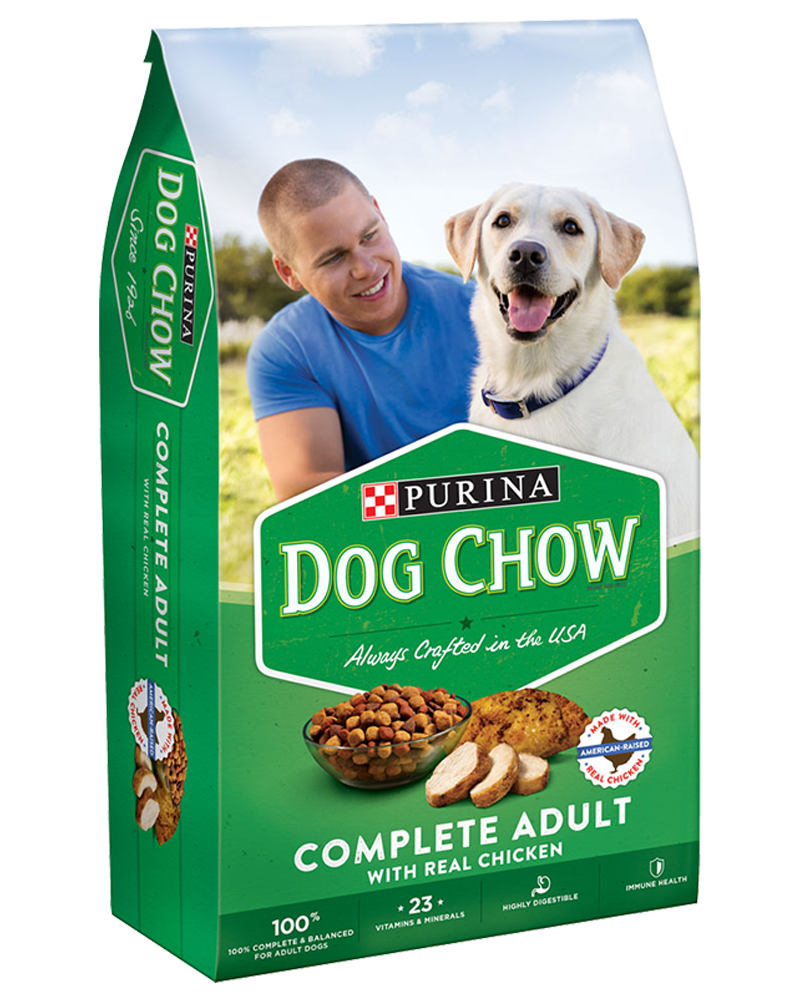 Purina® Dog Chow® brand dog food offers the Total Care Nutrition® your dog needs in the form of dry dog food targeted for your dog's life stage.