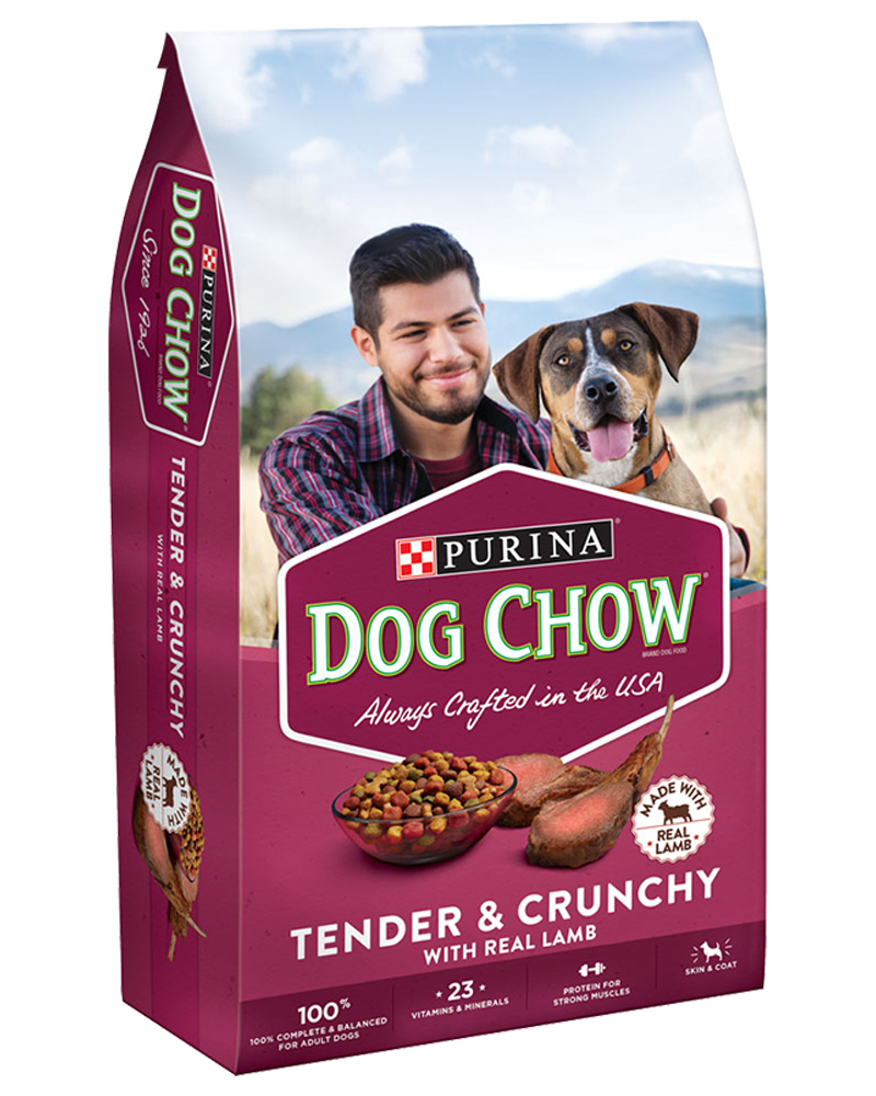 Tender & Crunchy Brand Dog Food