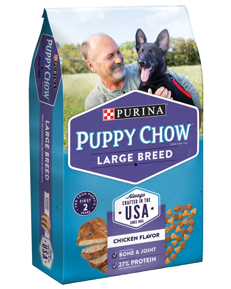Puppy Chow® Large Breed Formula Brand Puppy Food