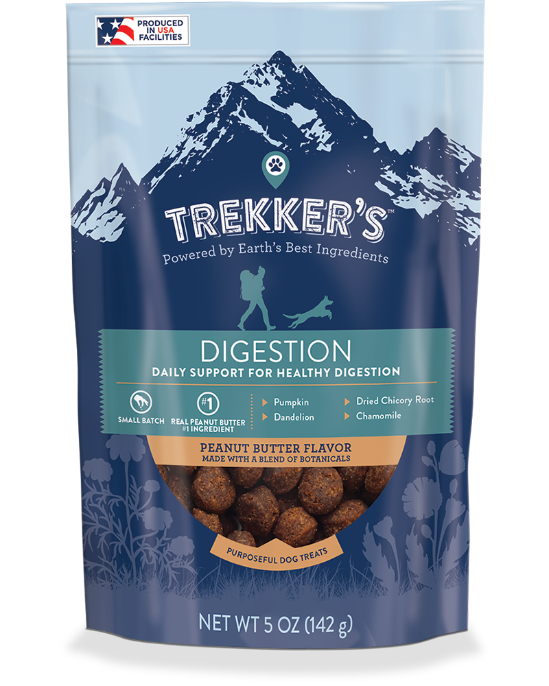 Trekker's Digestion Dog Chews