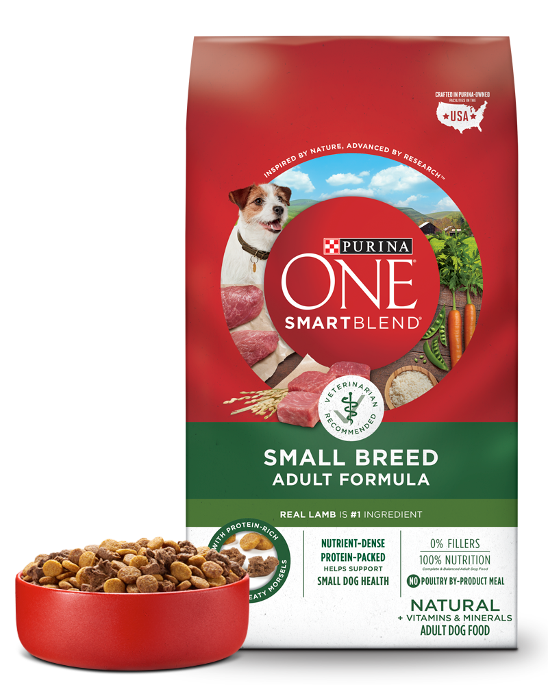 Purina ONE SmartBlend Small Breed Lamb & Rice Formula Adult Dog Food