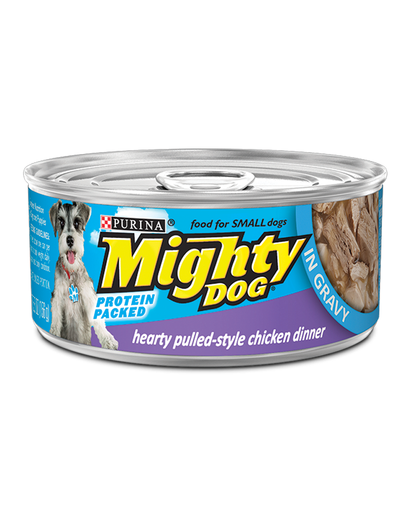 Mighty-Dog-Hearty-Pulled-Style-Chicken-Dinner-Wet-Dog-Food-in-Gravy
