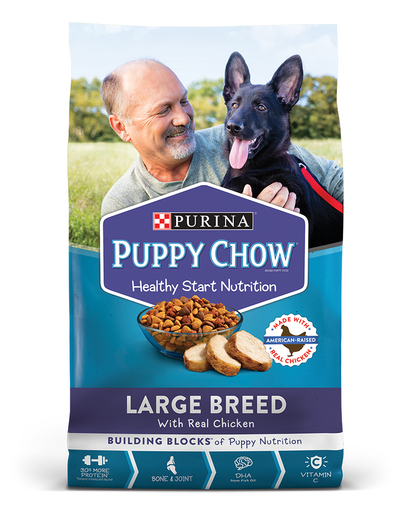 Puppy Chow Large Breed Formula Brand Puppy Food