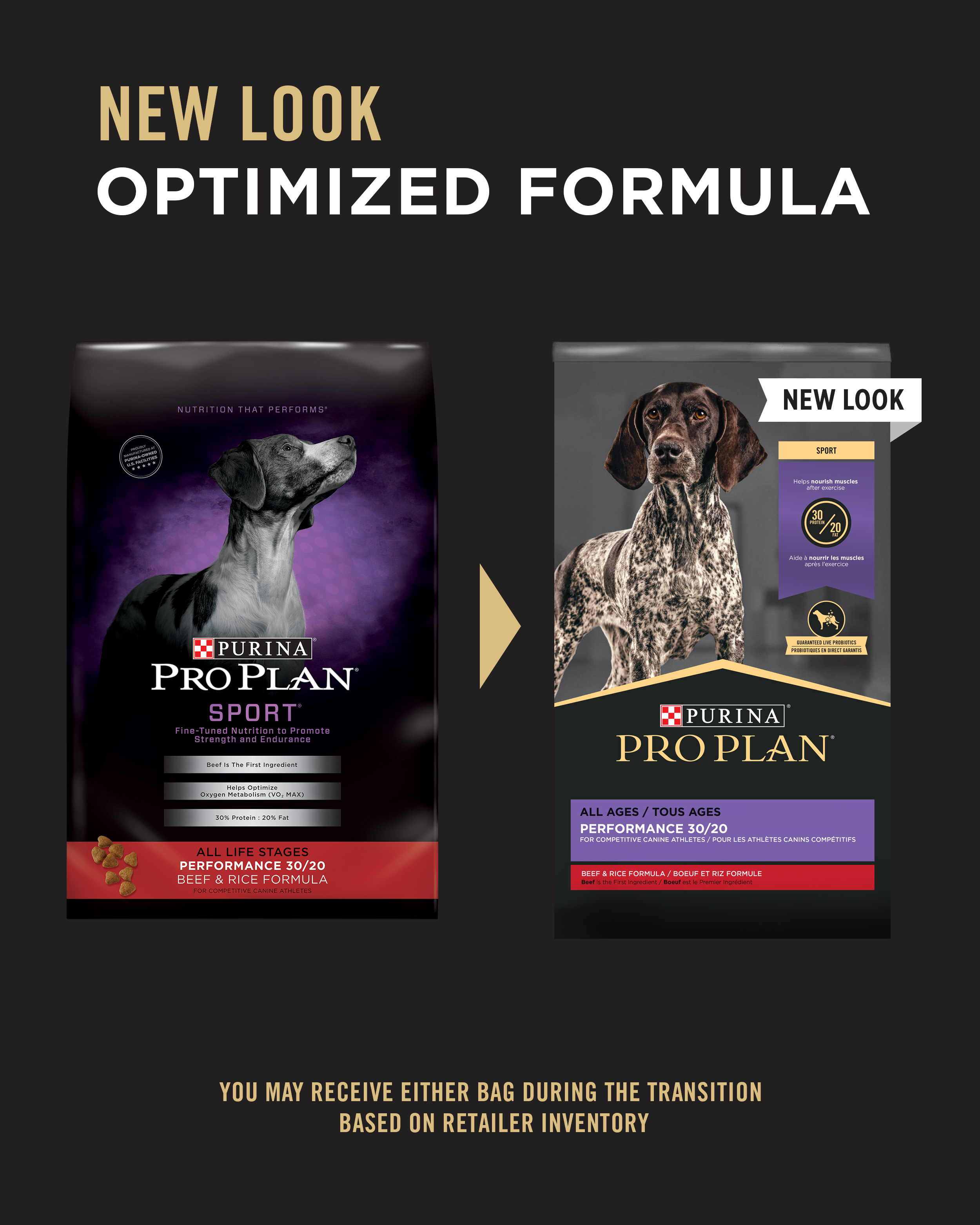 Purina Pro Plan Sport Performance 30/20 Beef & Rice Formula