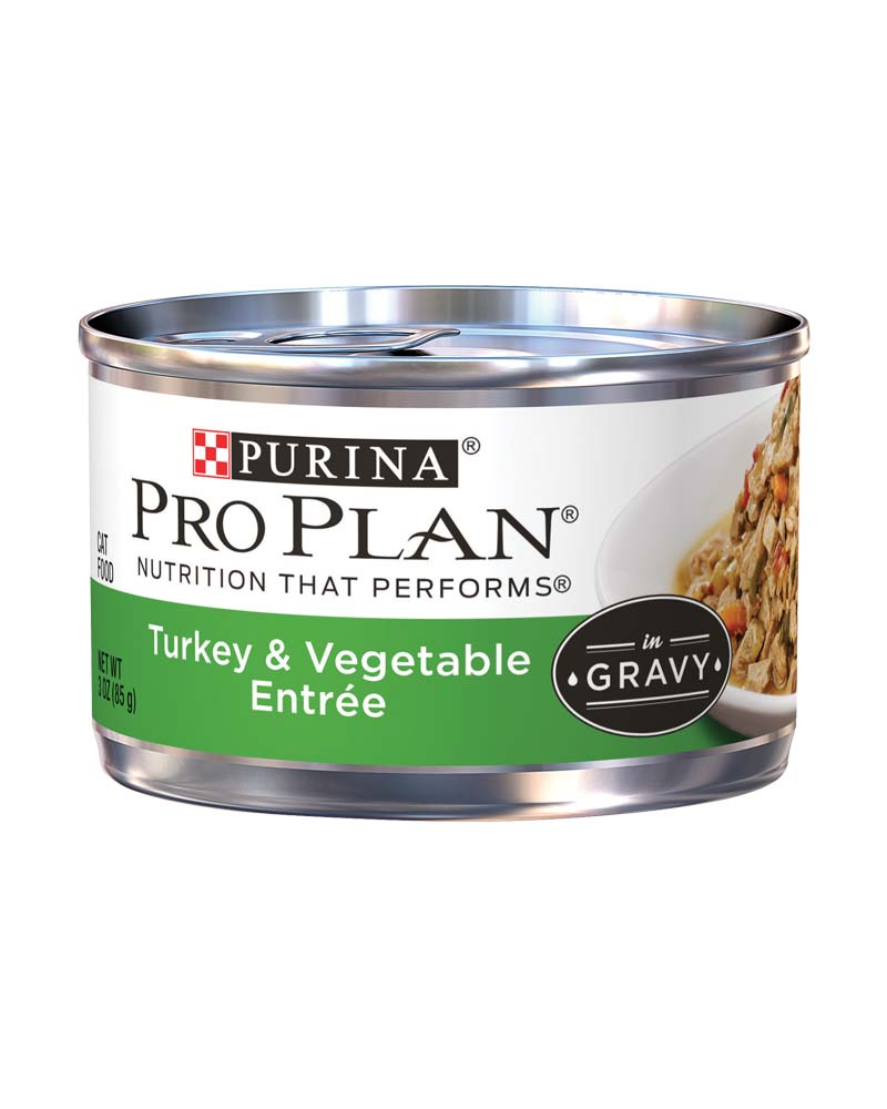 ProPlan Adult Turkey & Vegetable Entree in Gravy