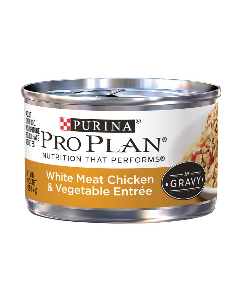 ProPlan Adult White Meat Chicken & Vegetable Entree in Gravy