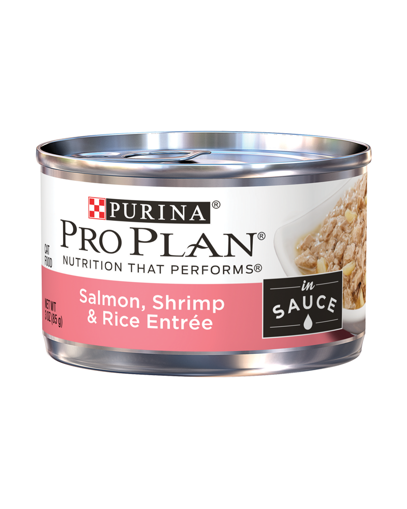 Pro Plan Adult Salmon, Shrimp & Rice Entree in Sauce