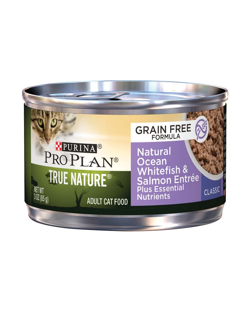 True Nature Adult - Grain Free Formula, Natural Ocean Whitefish & Salmon Entree Classic - Plus Essential Nutrients