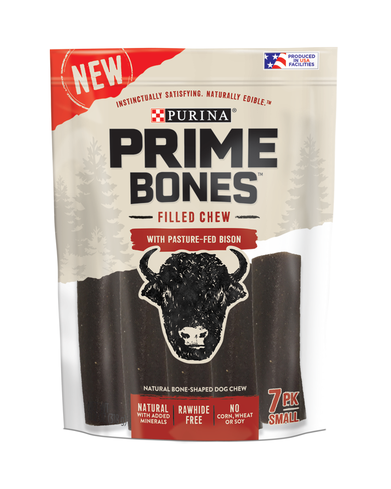 Prime Bones Bison Treats for Small Dogs