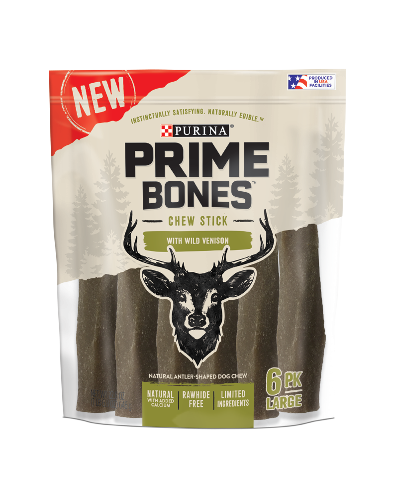 Prime Bones Venison Treats for Large Dog