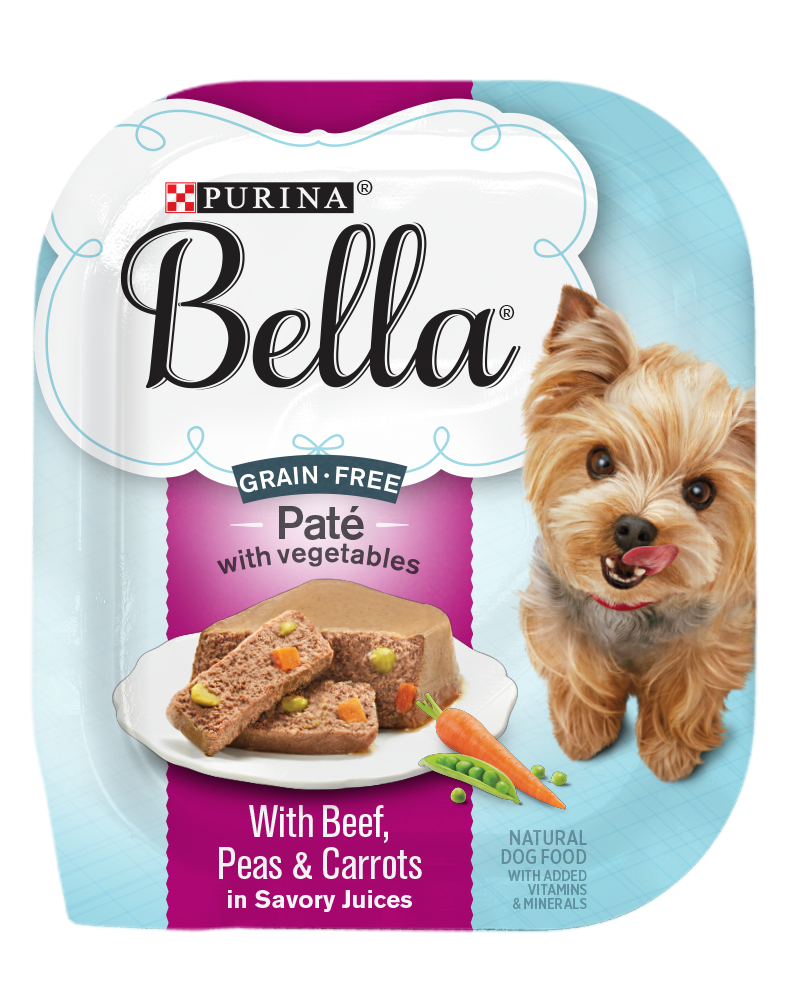 Bella Grain Free Pate Beef Package Shot