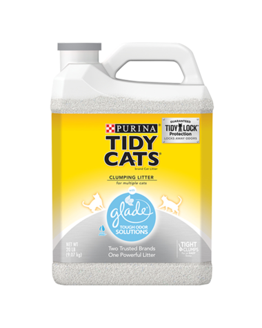 Tidy Cats Glade Tough Odor Solution