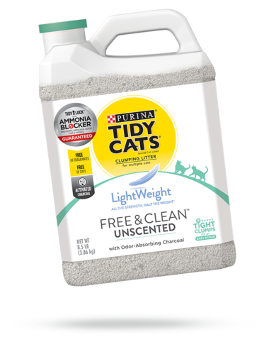 Tidy Cats Lightweight Free and Clean Unscented