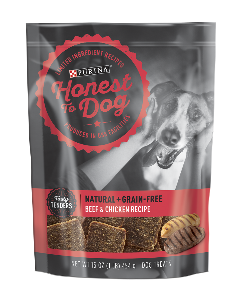 Honest To Dog Tasty Tenders Beef And Chicken Recipe Dog Treats