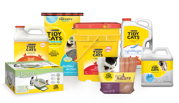 Tidy Cats Products