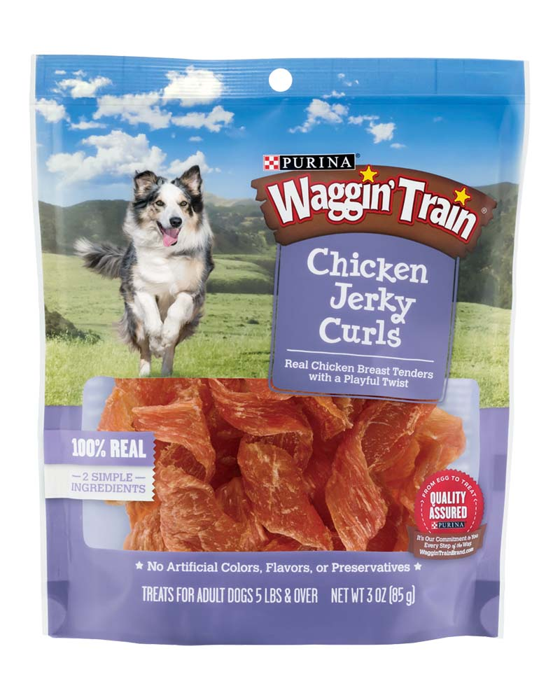 Waggin Train Chicken Jerky Curls