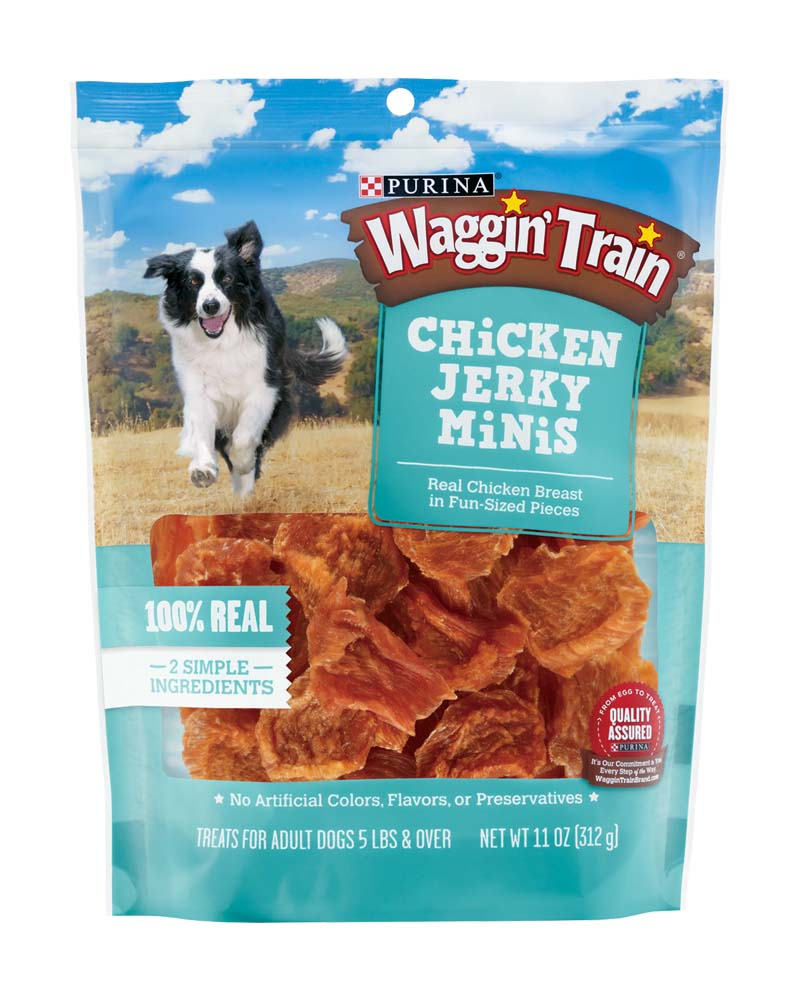 Waggin Train Chicken Jerky Mini's
