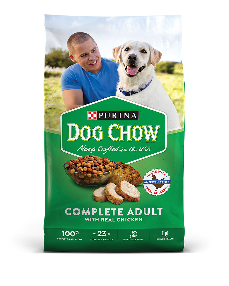 Dog Chow Complete Adult Dry Dog Food With Real Chicken | Purina