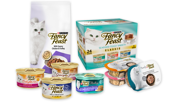 Fancy Feast Products