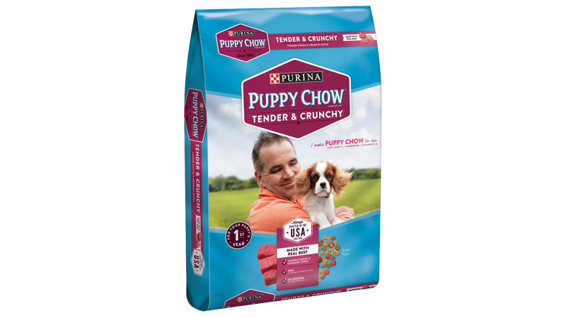 Purina® Puppy Chow® Tender & Crunchy Brand Puppy Food