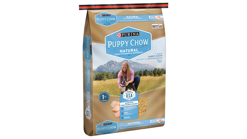 Purina® Puppy Chow® Natural Brand Dog Food