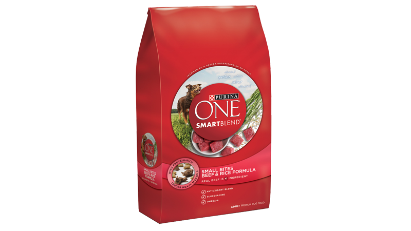 SmartBlend® Small Bites Beef and Rice Formula Adult Premium Dog Food