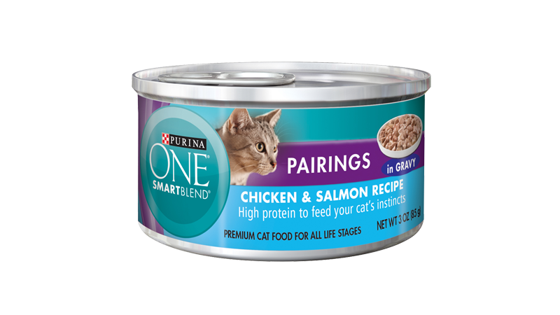 Smartblend® Pairings Chicken and Salmon Recipe In Gravy
